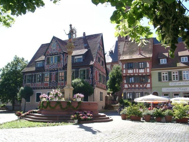 Marktplatz Ladenburg